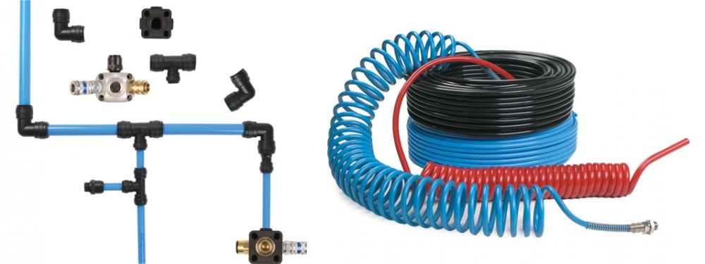 اتصالات و شیلنگهای مربوط به هوای فشرده